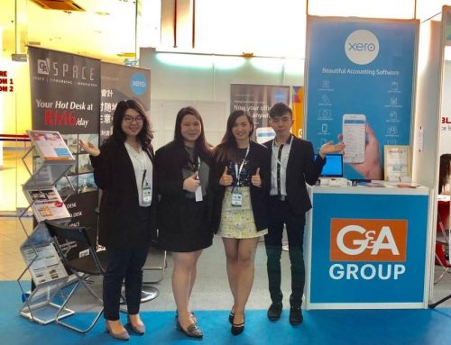 GAHive Xero Booth at Propex 2018
