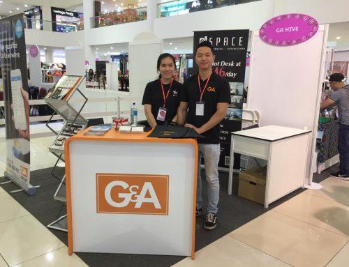 GAHive Xero Booth at Lady World Expo Suria Sabah