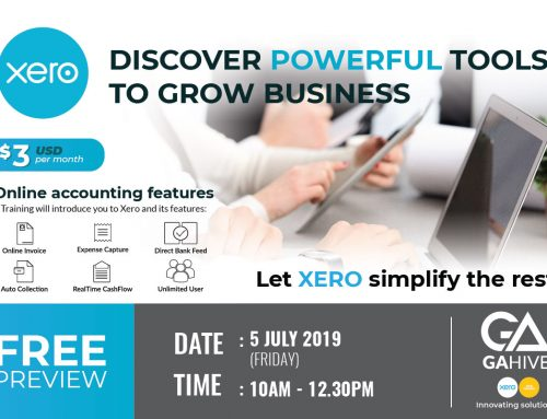 XERO Accounting Workshop @ 5 July